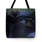 Warrior Of The Dark Tote Bag