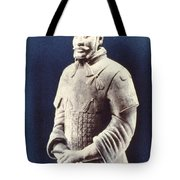 Warrior Of The Terracotta Army Tote Bag