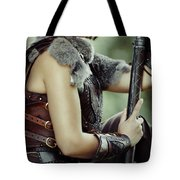 Warrior Princess In Battle Tote Bag