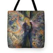 Warrior Woman Lean In Tote Bag
