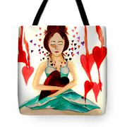 Warrior Woman - Tend To Your Heart Tote Bag