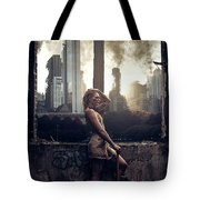 Warriors Come Out To Play Tote Bag