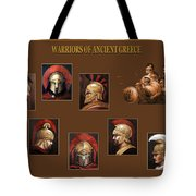 Warriors Of Ancient Greece Tote Bag