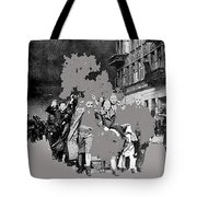 Warsaw Ghetto Uprising Number 1 1943 Color Added 2016 Tote Bag