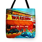 Warshaws Fruitstore On Main Street Tote Bag