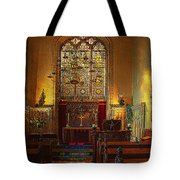 Warwick Castle Chapel Tote Bag by Chris Lord