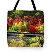 Wasatch Fall Tote Bag