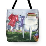 Wash Day Blues Tote Bag