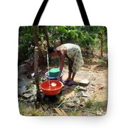 Wash Time Tote Bag