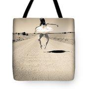 Washboard Ballet Tote Bag