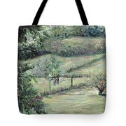 Washday In Provence Tote Bag