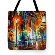 Washed City Tote Bag