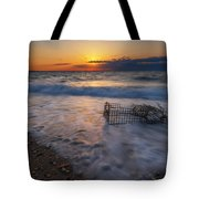 Washed Up Crab Cage 16x9 Tote Bag