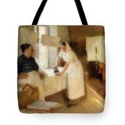 Washerwomen Tote Bag