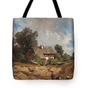 Washerwomen By The River Tote Bag