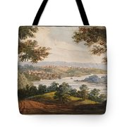 Washington And Georgetown From The Alexandria Road Tote Bag