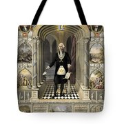 Washington As A Freemason Tote Bag