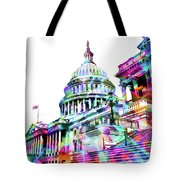 Washington Capitol Color 1 Tote Bag