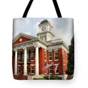 Washington County Courthouse Tote Bag by Kristin Elmquist