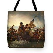 Washington Crossing The Delaware Tote Bag