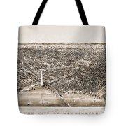 Washington D.c., 1892 Tote Bag by Granger