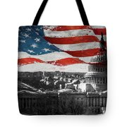 Washington Dc 56t Tote Bag