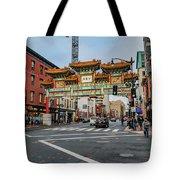 Washington D.c. Chinatown Tote Bag