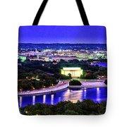 Washington Dc Dusk Tote Bag
