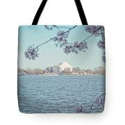Washington Dc In Spring Tote Bag