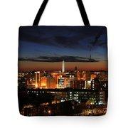 Washington Monument Night Sky Tote Bag