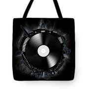 Washington Dc Skyline Vinyl 10 Tote Bag