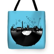 Washington Dc Skyline Vinyl 2 Tote Bag