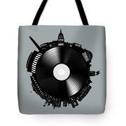 Washington Dc Skyline Vinyl 8 Tote Bag