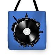 Washington Dc Skyline Vinyl 9 Tote Bag