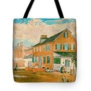 Washington D.c. Square 1874 Tote Bag