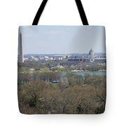 Washington Dc View From Custis Lee House Tote Bag