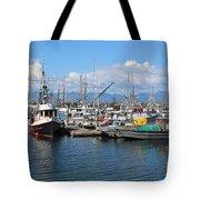 Washington Harbor Tote Bag