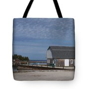 Washington Island Harbor 1 Tote Bag