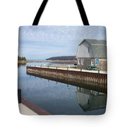 Washington Island Harbor 2 Tote Bag