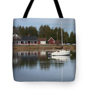 Washington Island Harbor 4 Tote Bag