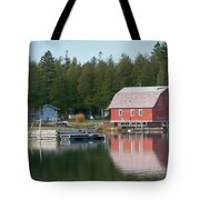 Washington Island Harbor 6 Tote Bag