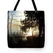 Washington Island Morning 2 Tote Bag