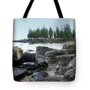 Washington Island Shore 3 Tote Bag