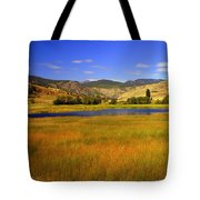 Washington Landscape Tote Bag