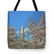 Washington Monument # 11 Tote Bag