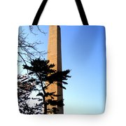 Washington Monument At Dusk Tote Bag