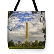 Washington Monument From The Mall Tote Bag