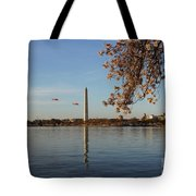 Washington Monument Tote Bag by Megan Cohen
