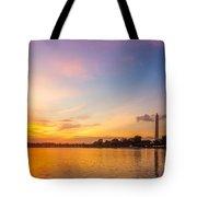 Washington Monument Sunset Tote Bag