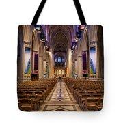 Washington National Cathedral Interior Tote Bag